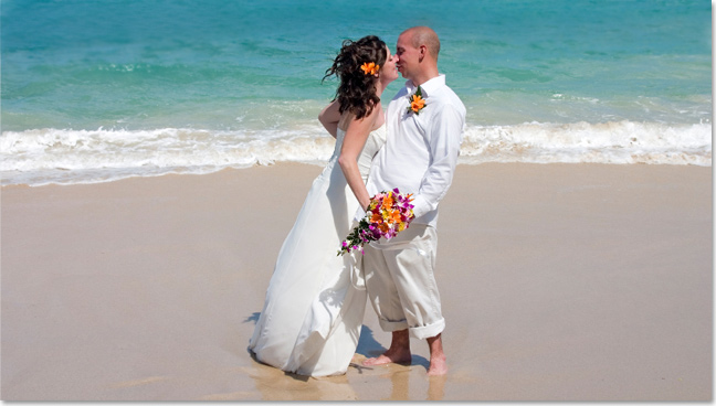 Destination weddings at Osprey Beach Hotel